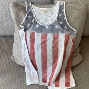 Ralph Lauren Layering Tank for 4th of July 💙